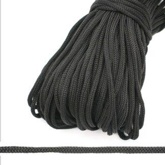 Шнур полипропиленовый 5.0 мм черный