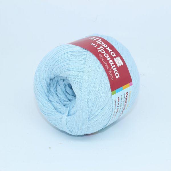Итальянская бледно голубой 0276