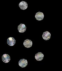 Бусины круглые акрил 8 мм Астра 0001АВ