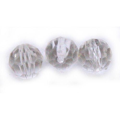 Бусины круглые акрил 8 мм Астра 0001
