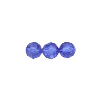 Бусины круглые акрил 8 мм Астра 0030