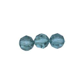 Бусины круглые акрил 8 мм Астра 0063