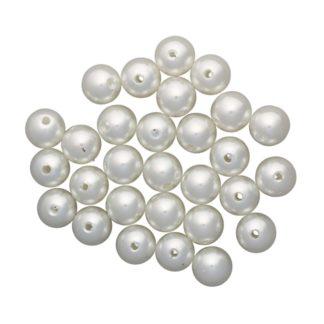 Бусины жемчуг пластик 12 мм 001NL