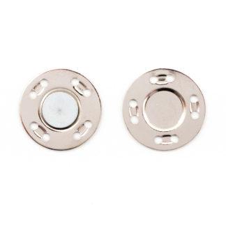 Кнопка магнитная 20 мм никель