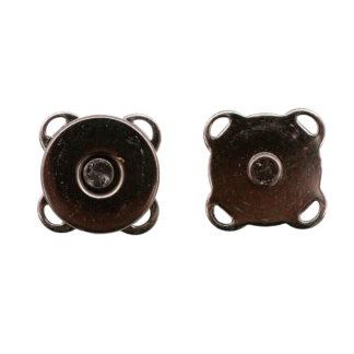Кнопка магнитная пришивная 14 мм черный никель