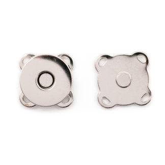 Кнопка магнитная пришивная 14 мм никель