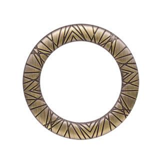 Кольцо 30 мм антик