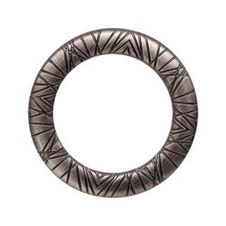 Кольцо 30 мм черный никель-
