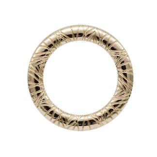 Кольцо 30 мм золото