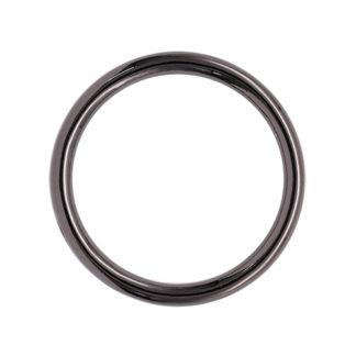Кольцо литое d=50*4мм черный никель
