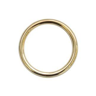 Кольцо литое d=50*4мм золото