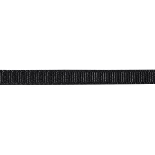 Лента репсовая 0.6 см черный