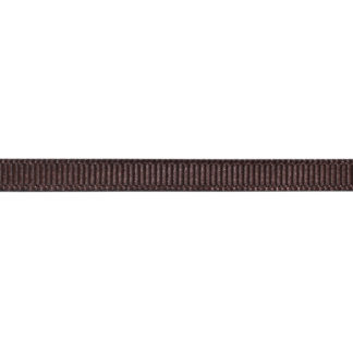Лента репсовая 0.6 см коричневый