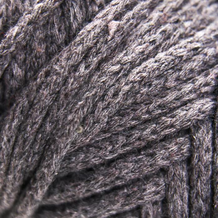 Шнур для рукоделия Хлопковый 4 мм темно-серый