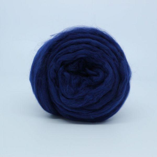 Австралийский меринос 19 мкм темно-синий 0107