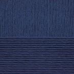 Хлопок натуральный 0004 темно-синий
