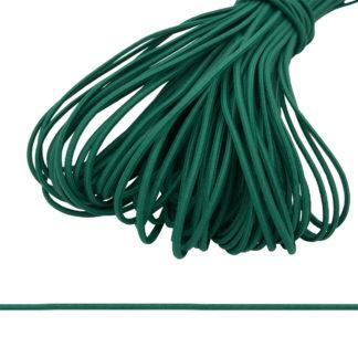 шнур эластичный темно зеленый