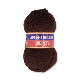 Аргентинская Шерсть 0121 коричневый
